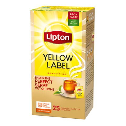 LIPTON Yellow Label tea 25 x 1,8 g -