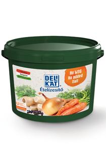 DELIKÁT ételízesítő hozzáadott só és ízfokozó nélkül 3 kg** - Az új Delikát nem tartalmaz hozzáadott sót és ízfokozót sem, csak a hozzávalók legjava maradt!