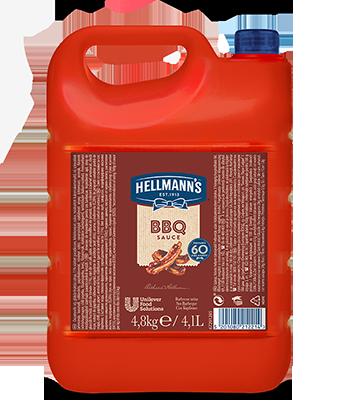 HELLMANN'S Barbecue szósz - A Hellmann's egy karakteres ízvilágú és kiváló állagú barbecue szószt kínál meleg és hidegkonyhai felhasználásra.