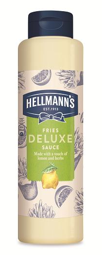 HELLMANN'S Citromos és zöldfűszeres majonéz szósz 850 ml -  Minőségi márkájú termék felszolgálása pozitív benyomást kelt a vendégekben.