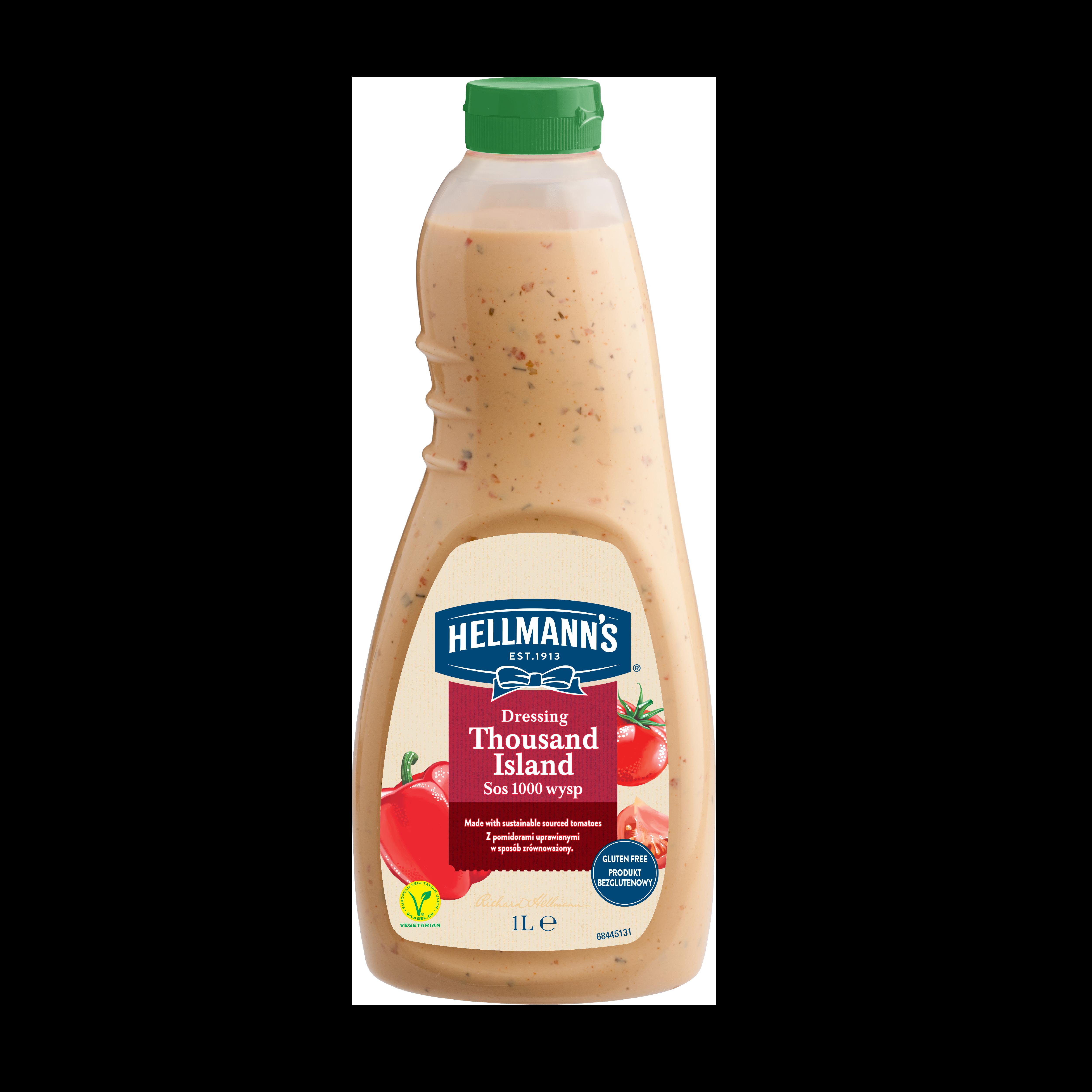 HELLMANN'S Ezersziget öntet 1L - Hellmann's az íz és minőség garanciája!