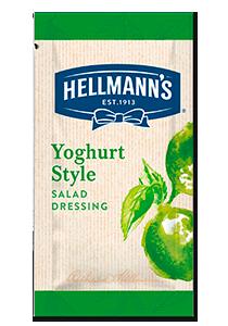 HELLMANN'S Joghurt ízű salátaöntet lime-mal - 30 ml GLUTÉNMENTES - Adja salátái mellé grátiszba, vagy árulja külön tételként.