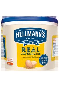HELLMANN'S Majonéz vödrös 4,625 kg - A Hellmann's Real Majonézben az autentikus íz a kiváló minőséggel társul egymással.