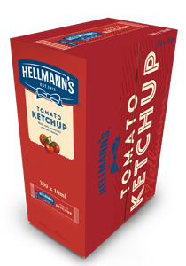 HELLMANN'S Mini Ketchup 15 ml x 200 db