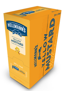HELLMANN'S Mini Mustár 10 ml x 240 db