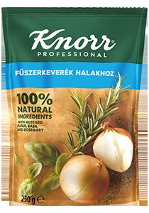 KNORR Fűszerkeverék halakhoz - Kizárólag olyan fűszerkeveréket használok, ami természetes összetevőkből készült és ételeimnek megbízható ízt kölcsönöz.
