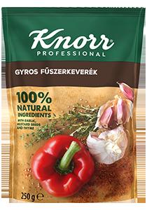 KNORR Gyros fűszerkeverék 0,25 kg - Legnépszerűbb ételeimhez lehetőleg természetes fűszerkeverékeket használok.