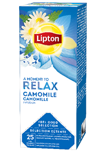 LIPTON Camomile - Filteres kamilla tea - Változatos Lipton tea kínálat: herbal, fekete, zöld vagy gyömülcs ízű