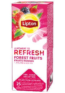 LIPTON Erdei gyümölcs tea 25 x 1,6 g - Változatos Lipton tea kínálat: herbal, fekete, zöld vagy gyömülcs ízű