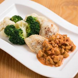 Halfilé bakonyi módra zöldségekkel (Óvódás korcsoport)