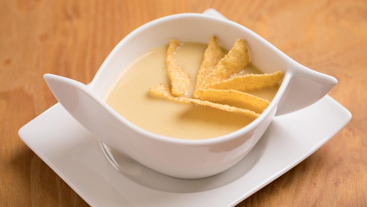 Currys kukoricakrémleves chipssel (Óvodás korcsoport)