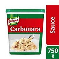 1 Karton Knorr Saus Carbonara Tub 750g