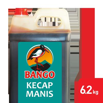 Bango Kecap Manis 6.2kg - Bango, Kecap Manis nomor 1, dipercaya oleh banyak restoran ternama di Indonesia