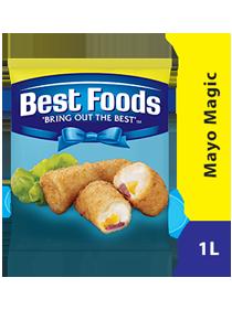 Best Foods Mayo Magic 1L - Best Foods Mayo Magic adalah pilihan tepat untuk hidangan panas, tahan hingga 200⁰C.