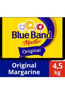 Blue Band Master Original Margarine 4.5kg - Blue Band Master Original, aromanya dipilih oleh pengusaha bakery dan chef yang premium dan sukses sejak 1934.
