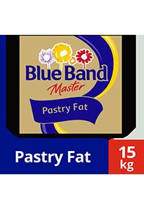 Blue Band Master Pastry Fat 15kg - Blue Band Master Pastry Fat menghasilkan puff pastry yang volumenya tinggi dan renyah