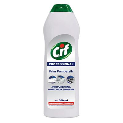 CIF Pro Cream 500ml - Tangguh lawan noda bandel, lembut di permukaan