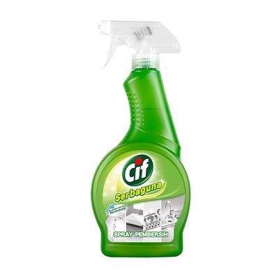 CIF Spray Serbaguna 500ml - Membersihkan berbagai permukaan dengan maksimal dan praktis.