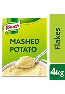 Knorr Kentang Kering Serpih 4kg - Kentang serpih berkualitas, mudah dibuat & digunakan untuk berbagai menu masakan