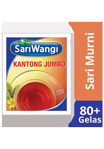 SariMurni Kantong Jumbo 4x20g - SariMurni kantong jumbo. Menghasilkan rasa teh khas Indonesia dalam jumlah banyak dengan cara yang praktis