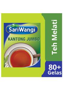SariWangi Teh Melati Kantong Jumbo 4x20g - SariWangi Teh Melati kantong jumbo. Menghasilkan rasa teh khas Indonesia dalam jumlah banyak dengan cara yang praktis