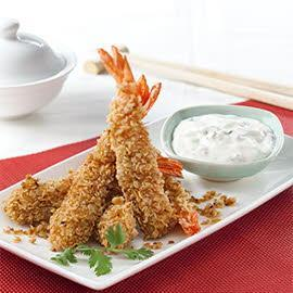 Cereal Prawn Pineapple & Lime Mayo