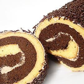 Dubbel Rollade Chocolade Muisjes