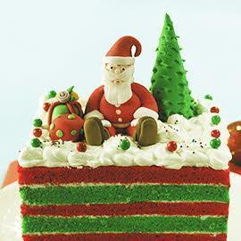 Hoho Santa Cake