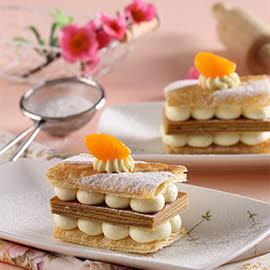 Mandarin Orange Million Layer Cake