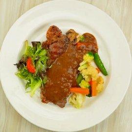 Sirloin Steak Blackpepper Sauce