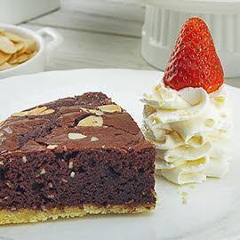 Tart Almond Brownies (Tawnies)