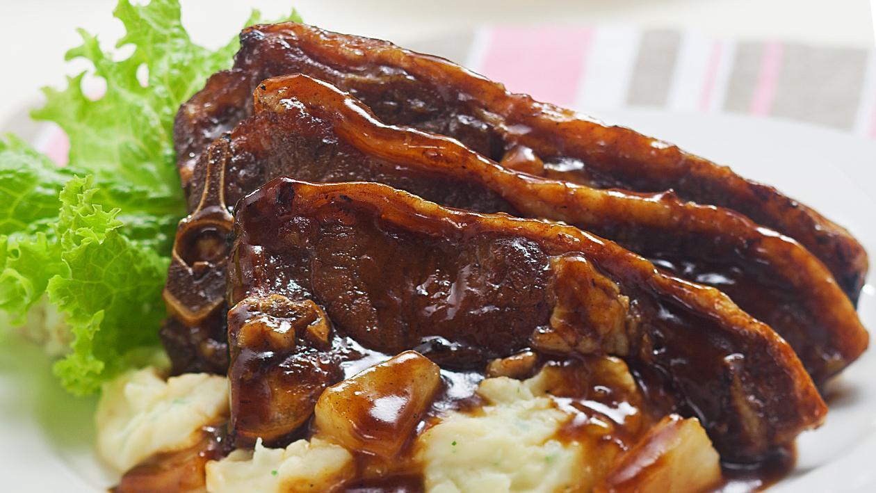 Barbeque Char Siu Beef Short Ribs