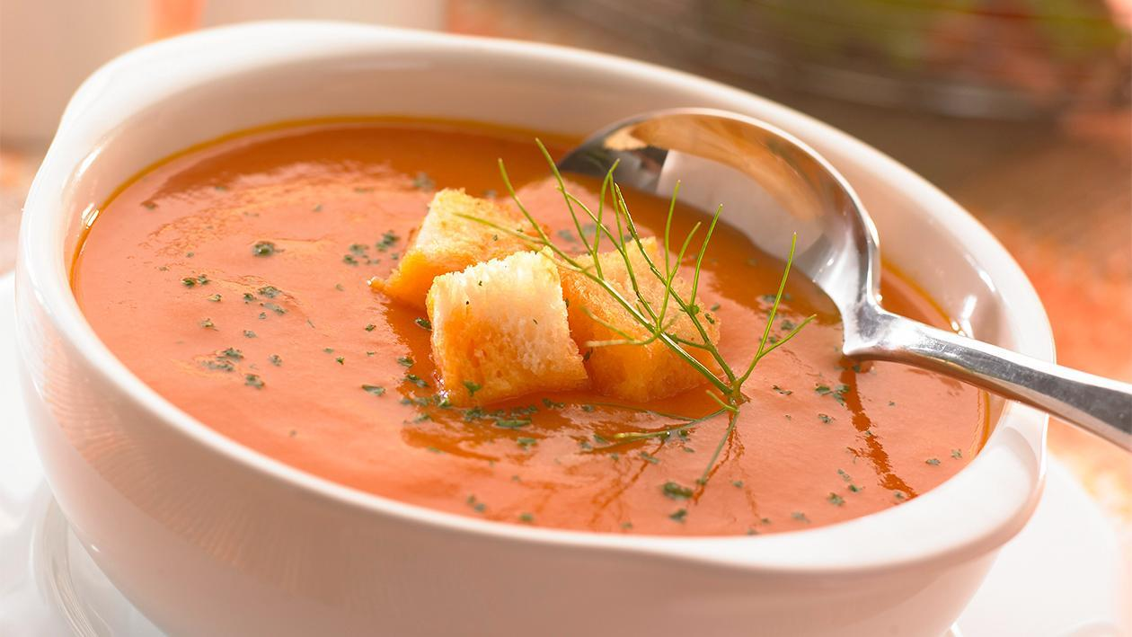 Chilled Carrot Tomato Soup