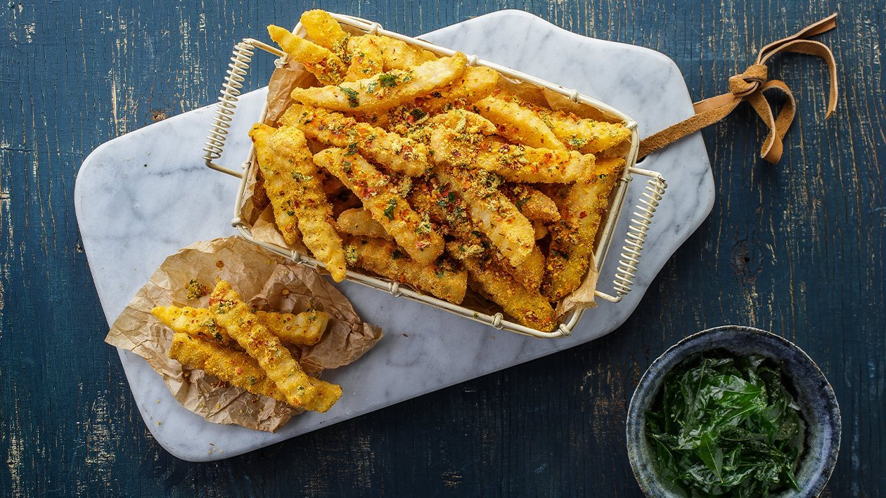 French Fries Salted Egg