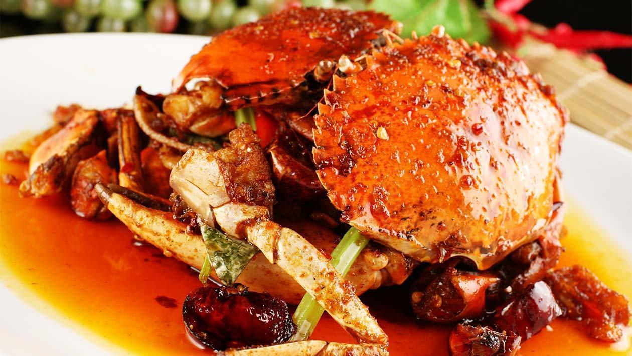 Kepiting Saur Tiram