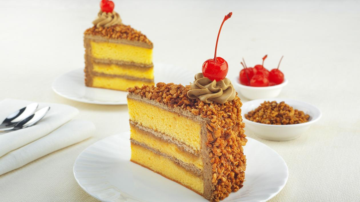 Mocca Caramel Nut Cake