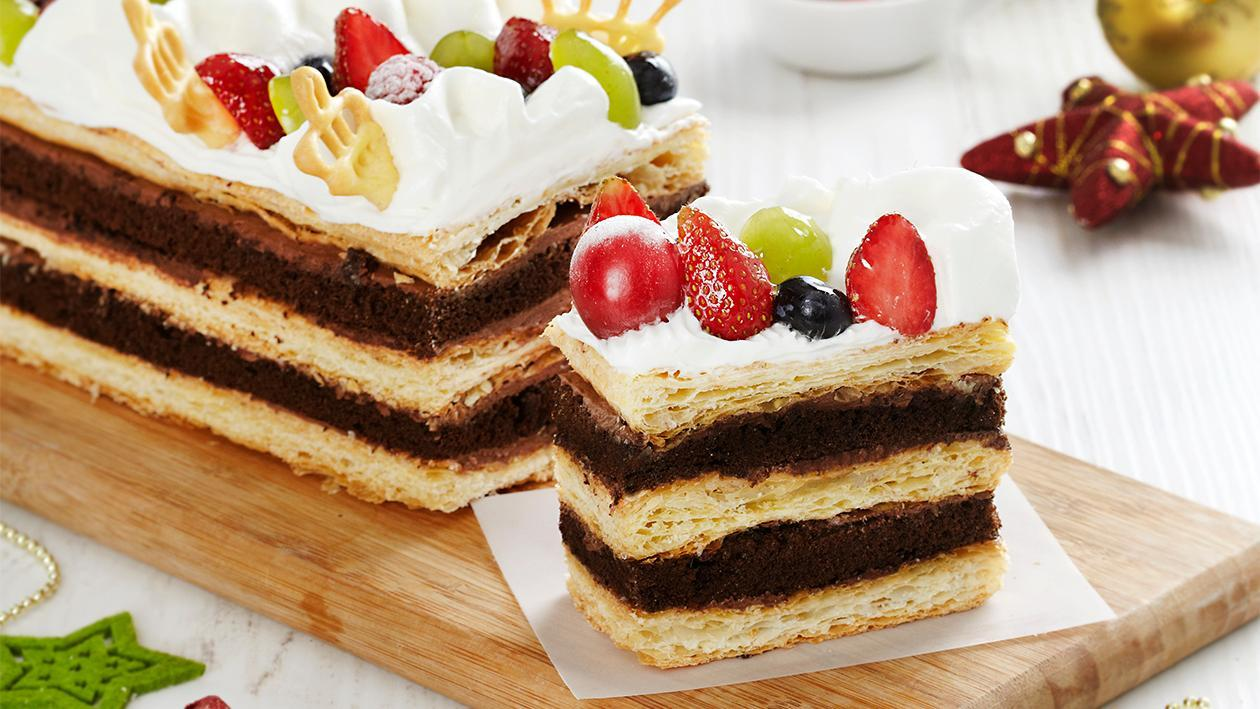 Napoleon Fruit Cake