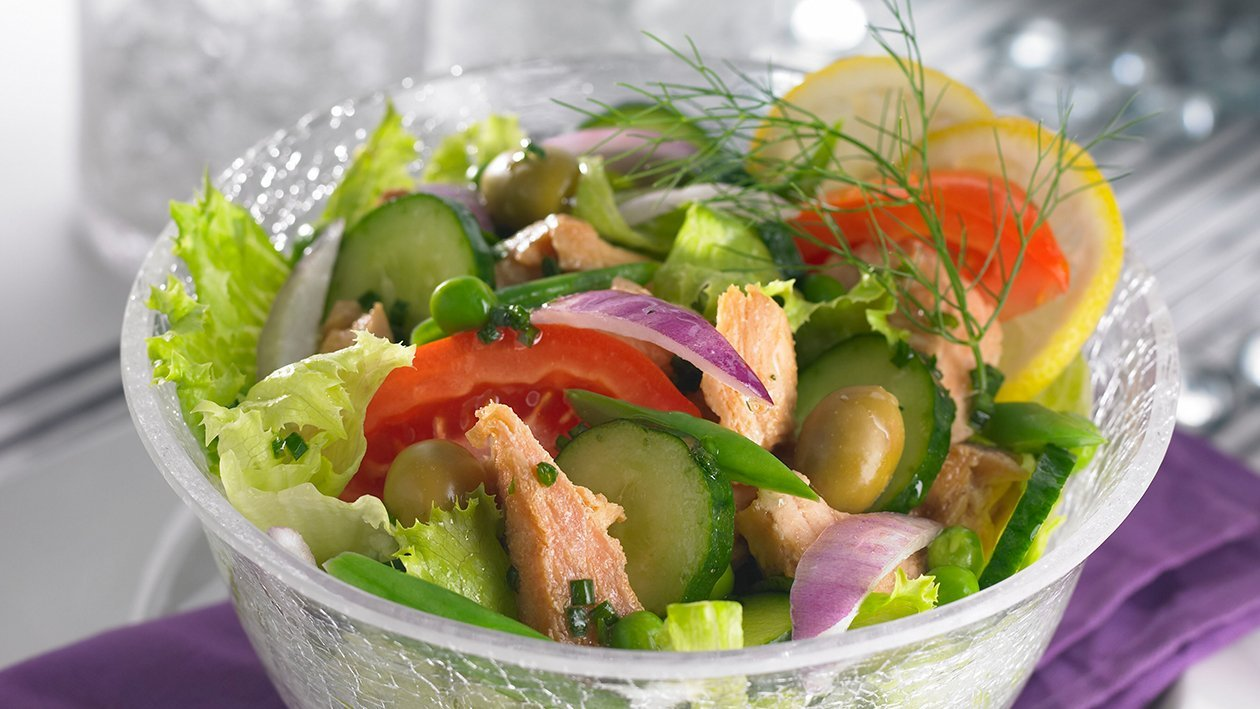 Salad Tuna Pelangi