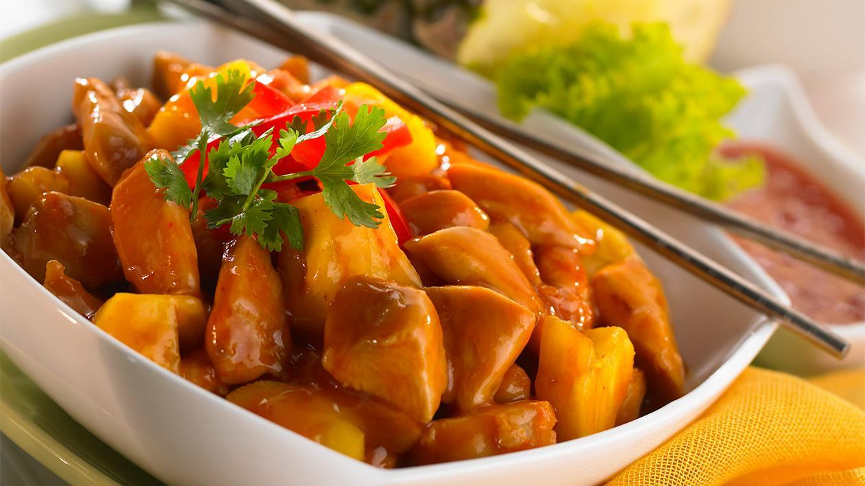 Spicy Chicken with Pineapple