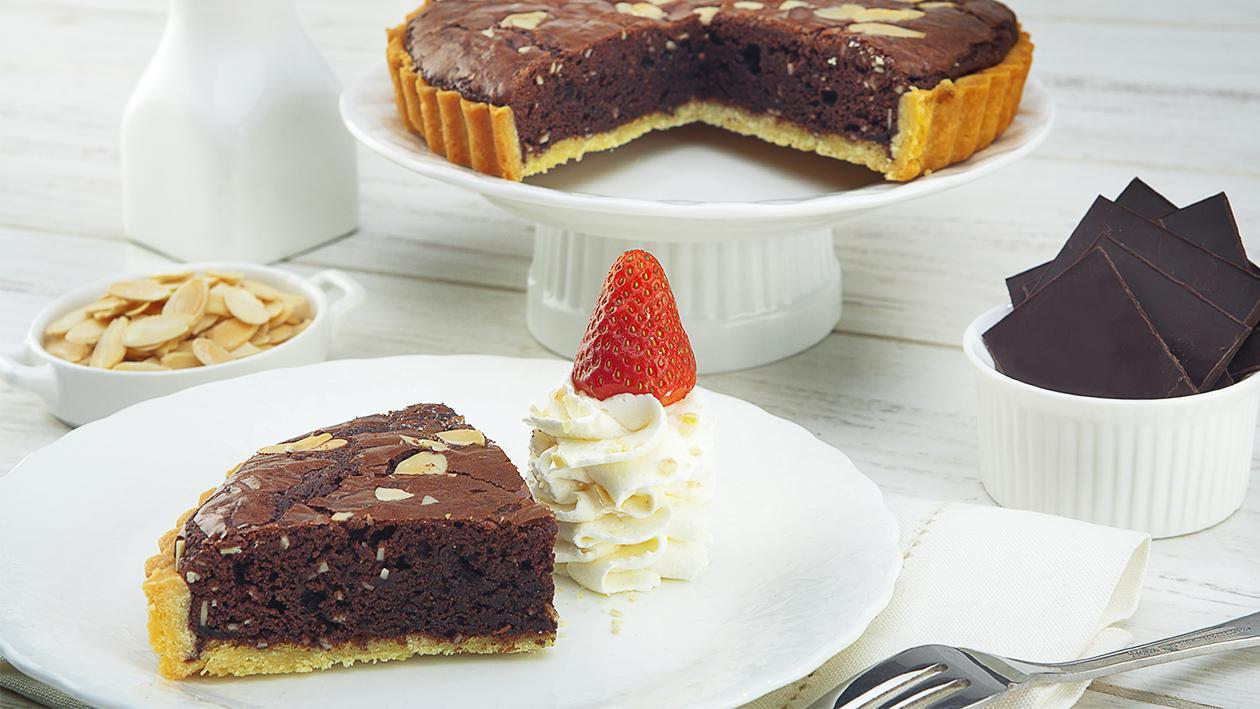 Tart Almond Brownies (Tawnies)