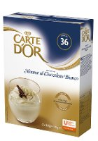 Carte d'Or preparato per Mousse al Cioccolato Bianco 750 Gr