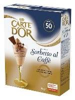 Carte d'Or preparato per Sorbetto al Caffè 860 Gr