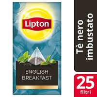 Lipton Pyramid English Breakfast Black Tea 25 Filtri