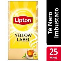 Lipton Yellow Label Tea 25 Filtri