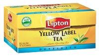 Lipton Yellow Label Tea Deteinato 50 Filtri