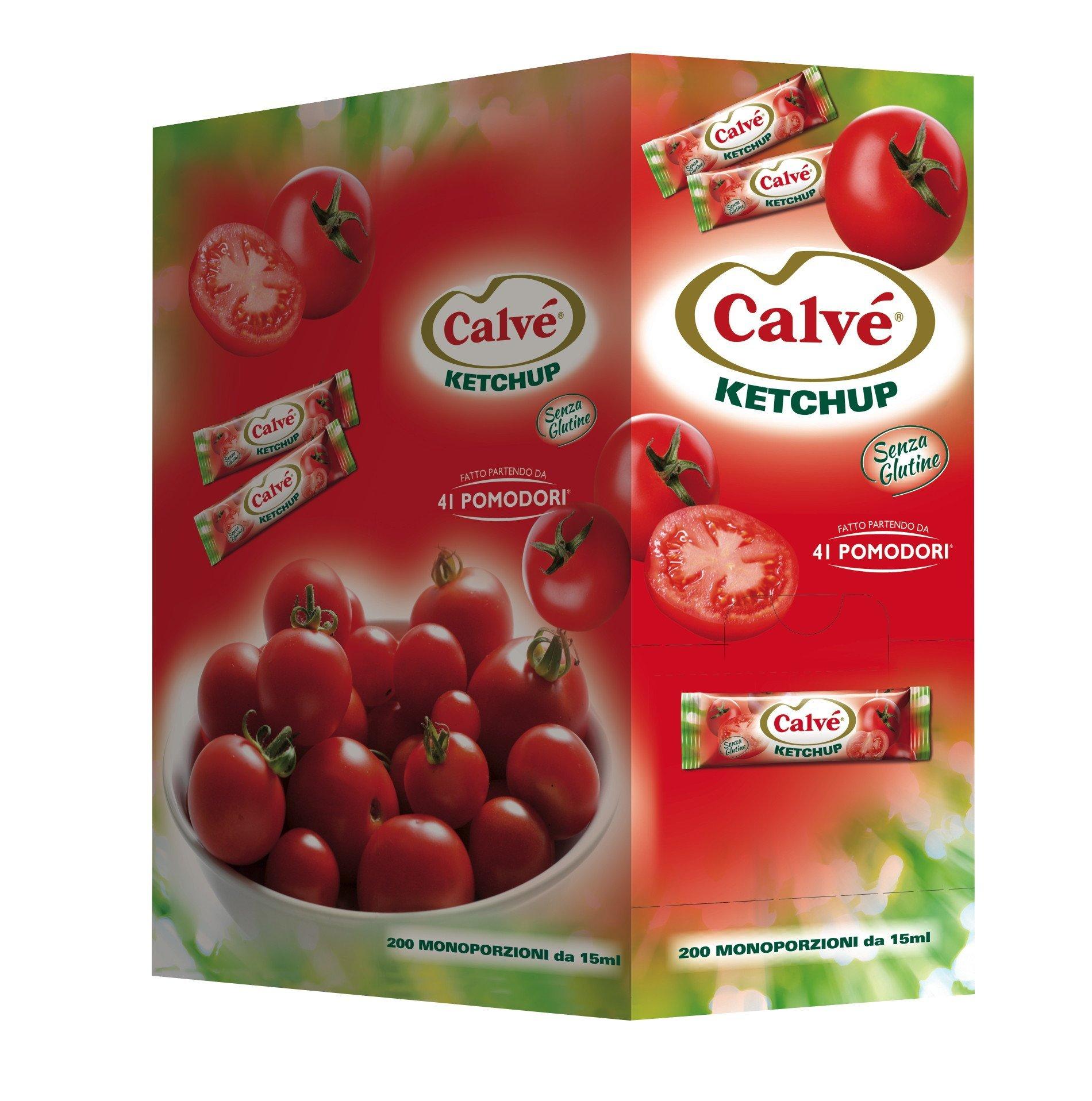 Calvé Ketchup Monodose 200x15 ml