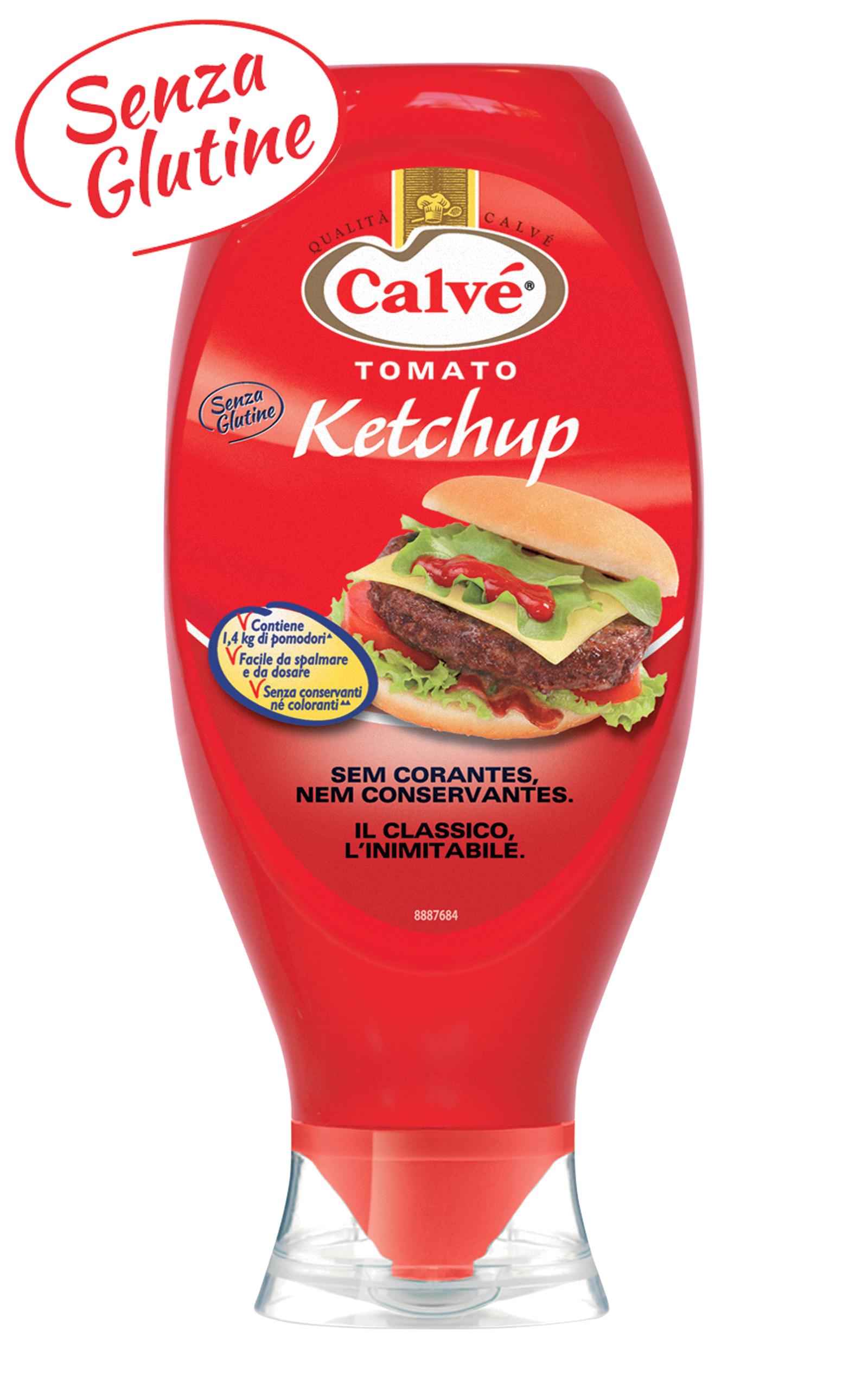 Calvé Tomato Ketchup Top Down 750 ml