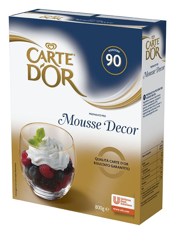 Carte d'Or preparato per Mousse Decor 800 Gr
