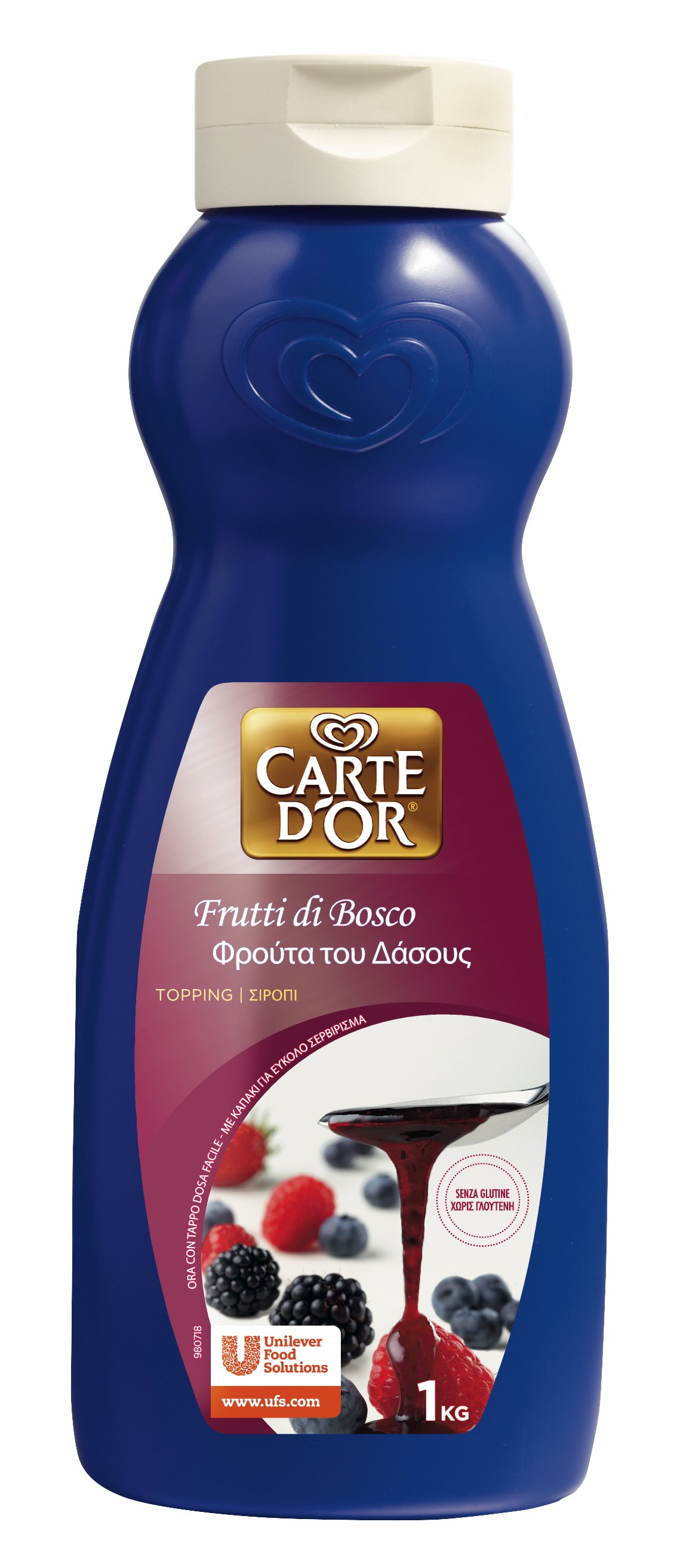 Carte d'Or Topping Frutti di Bosco 1 Kg