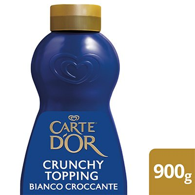 Carte d'Or Crunchy Topping Bianco Croccante 1 Kg -